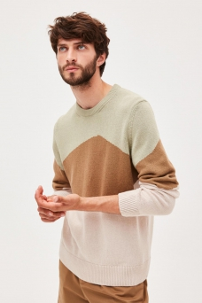 Unaa Rocks Sweat, Greentea/Brown