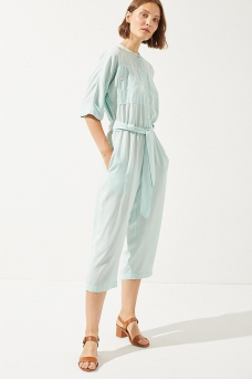 Flamingo Jumpsuit, Acqua