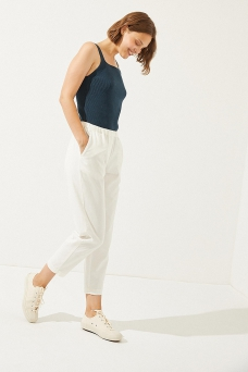 Zerith Trouser, White