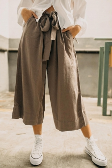Tie Long Culotte, Wheat